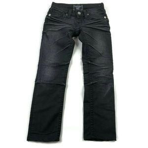 Big Star Nico Straight Black Distressed Jeans